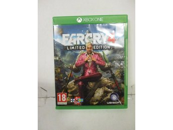 Far Cry 4: Limited Edition - XBOX ONE - MKT FINT SKICK!