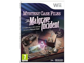 Mystery Case Files - The Malgrave Incident Nintendo Wii