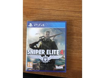 Sniper elite 4  Playstation 4 nytt & inplastat