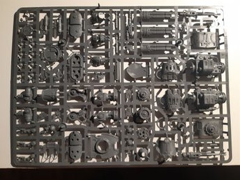 Warhammer 40k - Imperial Knights Warden upgrade sprue
