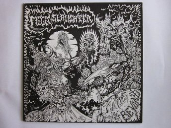 Megaslaughter ‎–Calls From The Beyond lp rare ORIGINAL Death