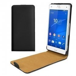 flipcase Sony Xperia  C1605 Flip Case High quality wallet  Magnetic läder