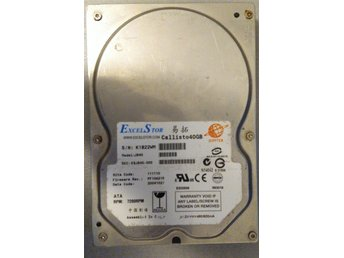 2004 - Hard Drive Excelstor 40 GB IDE