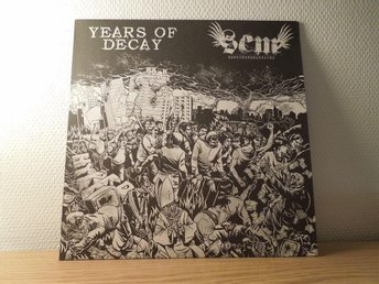 Sandcreek massacre/Years of decay SplitLP Crust punk
