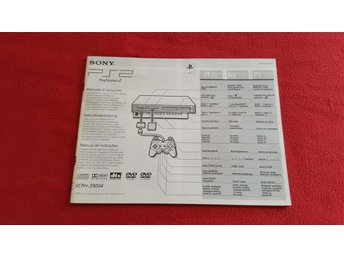 BASENHET MANUAL till Sony Playstation 2 PS2