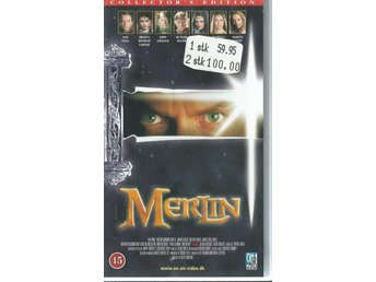 MERLIN - Collector´s edition  (DANSK TEXT !-VHS FILM !!)