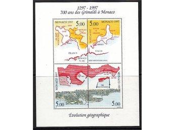 Monaco 1997. Mnr: Block nr 73 ** - Njurunda - Monaco 1997. Mnr: Block nr 73 ** - Njurunda