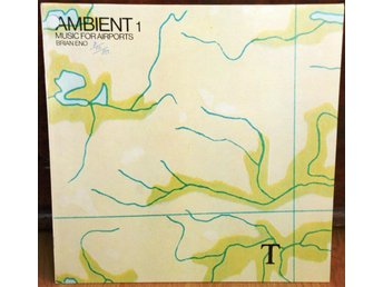 LP - Brian Eno - Ambient 1 - Music for Airports