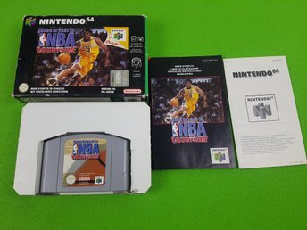 NBA Courtside KOMPLETT N64 Nintendo 64