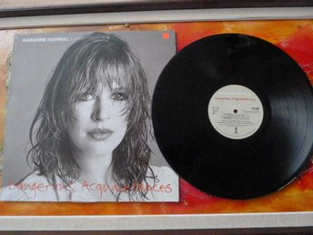 MARIANNE FAITHFULL, DANGEROUS ACQUAINTANCES, 1981, LP, LP-SKIVA