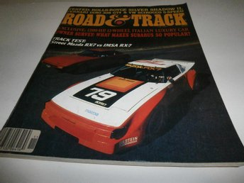 Road&Track Nov 1979 Rolls Royce Ferrari VW Mazda mm