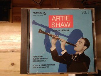 Artie Shaw - Live in 1938-39 Vol. 1, CD