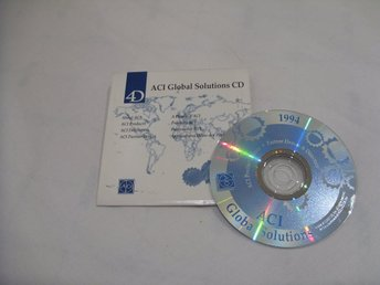 ACI Global Solutions CD ROM ACI US Inc 1994 Product Demos Macintosh Apple