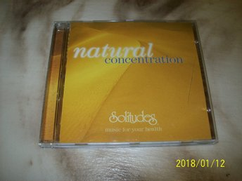 Natural Concentration - Music for your health (CD)