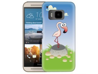 HTC One M9 Skal Flamingo