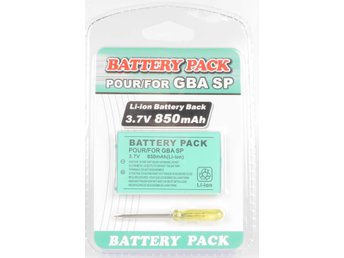 Battery Pack for Gameboy Advance SP -