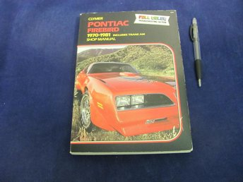 PONTIAC Firebird 1970-1981 Shop Manual