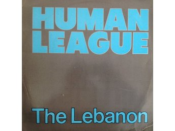 "Human League – The Lebanon (Virgin 12"")"