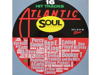 16 hit tracks Atlantic Soul Classics