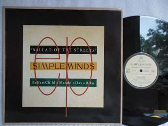 SIMPLE MINDS - BALLAD OF THE STREETS - VIRGIN SMXT 3