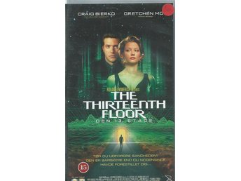 THE THIRTEEN FLOOR  (DANSK TEXT !-VHS FILM !!)