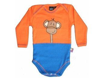 Loeke Look baby body (Apa) Storlek: 3-6 Månader (ca: 68 CL) - Gratis frakt - Sundbyberg - Loeke Look baby body (Apa) Storlek: 3-6 Månader (ca: 68 CL) - Gratis frakt - Sundbyberg