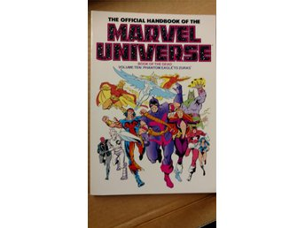 Official Handbook of the Marvel Universe TPB (1986-1987) VOL 1-10 i nyskick - Sundbyberg - Official Handbook of the Marvel Universe TPB (1986-1987) VOL 1-10 i nyskick - Sundbyberg