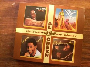 Al Green - THE LEGENDARY HI RECORDS ALBUMS- Volume 2 (2 disc)