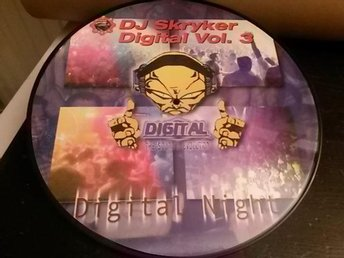 "DJ Skryker Digital Night Vol. 3 - Maxisingel,12"" - Bildskiva/Picture Disc - 2001"