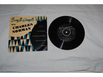 Boogie Woogie With Charles Norman. Ovanlig!