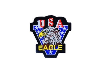 Victory USA Eagle Patch Smal Brodyrmärke.