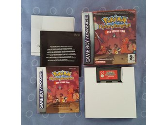 Pokemon Mystery Dungeon: Red Rescue Team - Game Boy Advance