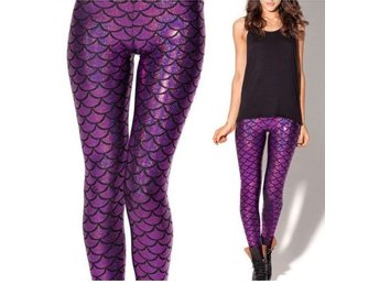 Leggings – Mermaid – Lila