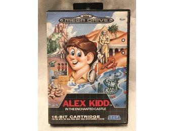 alex kidd in the enchanted castle / Sega mega drive. - Halmstad - alex kidd in the enchanted castle / Sega mega drive. - Halmstad