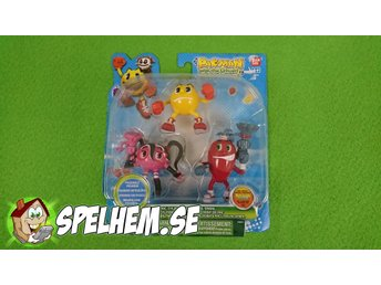 Pac-man Figurer NY INPLASTAD (Start 1 Krona)