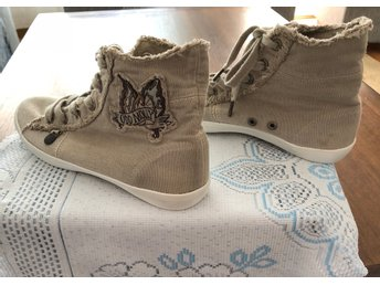 Nya Odd Molly 891 butterfly high sneakers porcelain  i strl 38