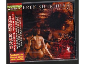 Derek Sherinian CD Blood of a snake Inplastad Slash Billy Idol