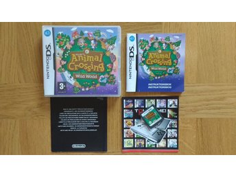 Nintendo DS: Animal Crossing: Wild World (svenskt/SWD)