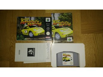 Nintendo 64: Beetle Adventure Racing (tyskt)