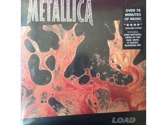 METALLICA - LOAD LIMITED GATEFOLD NY 2-LP MINT