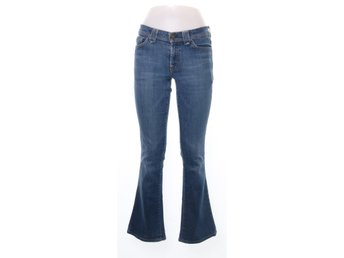7 for All Mankind, Jeans, Strl: 28, Blå