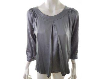 8b246dd9ee351d GANNI Calla silk blouse (345643491) ᐈ Köp på Tradera