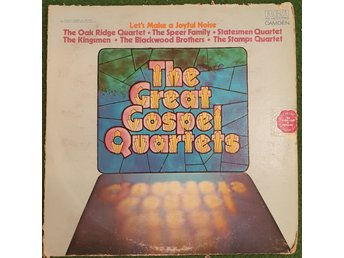 Lp -  The great gospel quartets