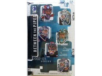 2002/2003 Be A Player Between the Pipes Hobby Box