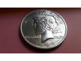 DOLLAR, USA PEACE EXTRA FINT SKICK,SILVER 900/1000 1922