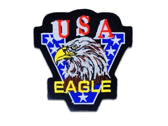 Victory USA Eagle Patch Big Brodyrmärke.