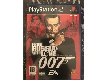 From Russia with love 007 Play station 2 ps2 spel