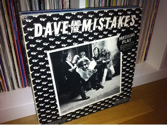 Dave and the Mistakes - s/t mini-LP 1980