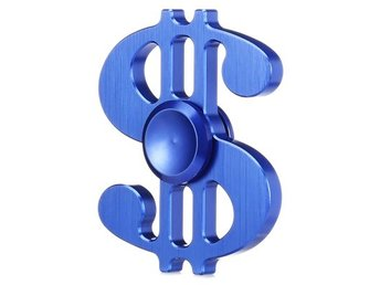 Dollar Style Aluminum Alloy ADHD Fidget Spinner Pressure Reducing Cheap Fidget T