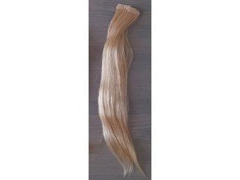#27 Tape on i äkta Remy löshår 50 cm 50 g Blond. - Motala - #27 Tape on i äkta Remy löshår 50 cm 50 g Blond. - Motala